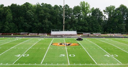 football field sports turf